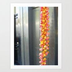 Flower Tails Art Print
