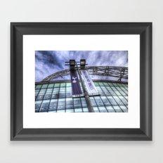 Come on You Spurs Wembley Stadium Framed Art Print