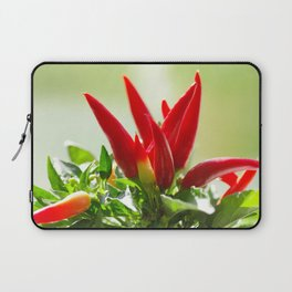 Chili peppers on the vine Laptop Sleeve