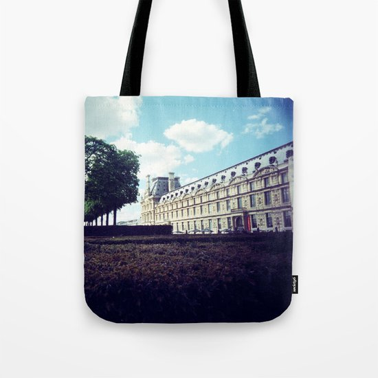 Louvre Gardens I Tote Bag