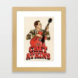 Chet Atkins Framed Art Print