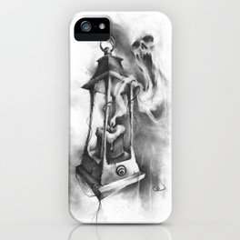 The Black Candle iPhone Case