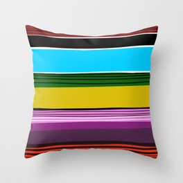 Serape 2 Throw Pillow