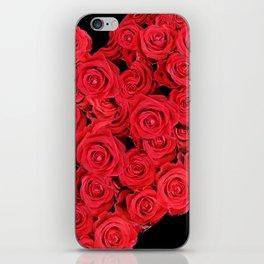 Love hearts II iPhone Skin