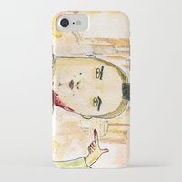 taxi driver iPhone & iPod Cases featuring Taxi Driver by Wakkala