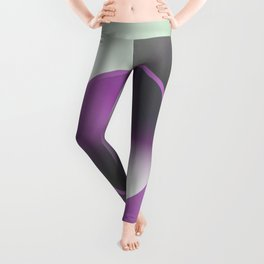 Serene Simple Hub Cap in Purple Leggings