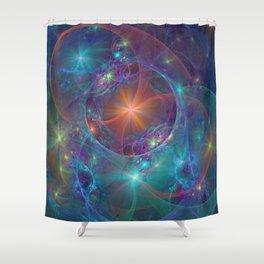 Galactic Stars Shower Curtain