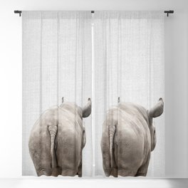 Rhino Tail - Colorful Blackout Curtain