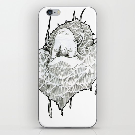 monsterT iPhone & iPod Skin