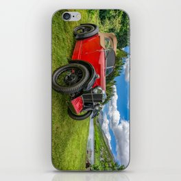 Arriving In Style iPhone Skin