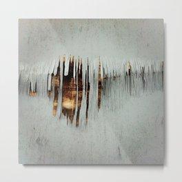 Splintering paint Metal Print
