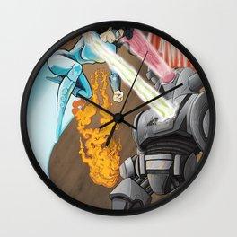 SuperHeros SF Wall Clock
