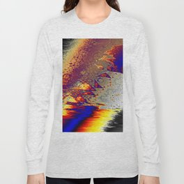 falling off into the unknown Long Sleeve T-shirt