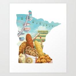 State Fair Art Print