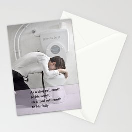 Proverbs 26:11 Stationery Cards