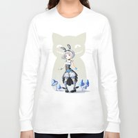 alice Long Sleeve T-shirts featuring Alice by Freeminds