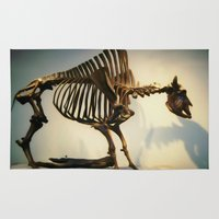 buffalo Area & Throw Rugs featuring Buffalo by Mandy Chesnut