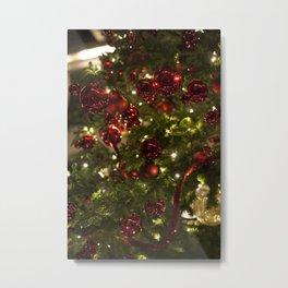 Christmas Ornaments Metal Print