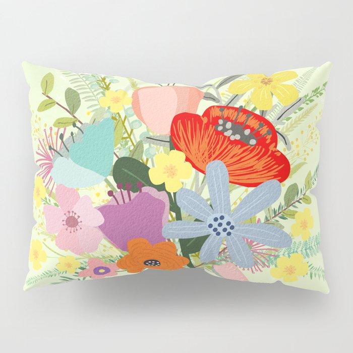 Bringing Summer Wildflowers Inside Pillow Sham