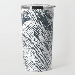 Circle wood Travel Mug