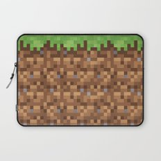 Minecraft Dirt Block Laptop Sleeve