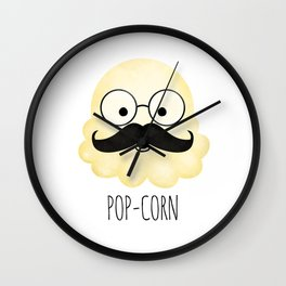Pop-corn Wall Clock