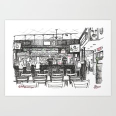 G Street Wunderbar Art Print