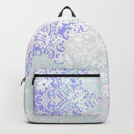 Spring Mandala on Concrete Backpack