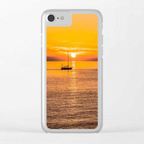Finish of the day Clear iPhone Case