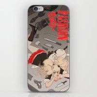 dangan ronpa iPhone & iPod Skins featuring fashion monster by Cori Walters