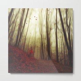 Leaf by Leaf Metal Print