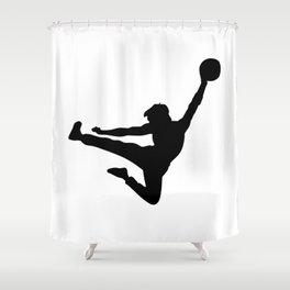 #TheJumpmanSeries, Bruce the Little Phoenix Shower Curtain