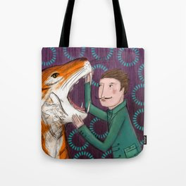 Der Tiger Tote Bag