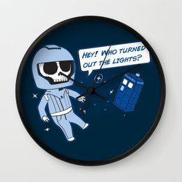 Lights out! Wall Clock
