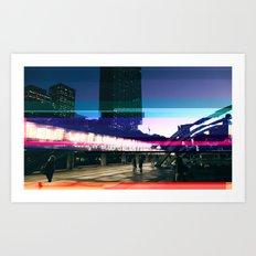 Project L0̷SS | Nathan Phillips Square, Toronto Art Print