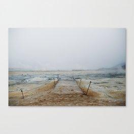 Hverir Canvas Print
