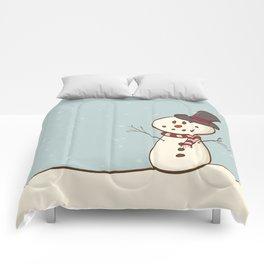 Snowman Comforters