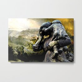 The Destruction of Jerusalem  Metal Print