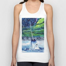 Narwhal Unisex Tank Top
