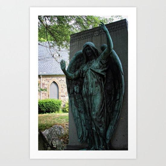 Grave Snatcher Art Print