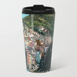 Colored Houses of Italy Travel Mug