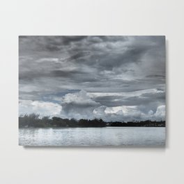 Hurricaine Ingrid closing in Metal Print