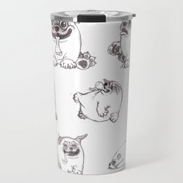 Mozart The Pug Travel Mug