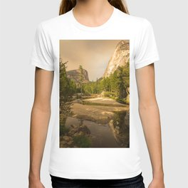 Mirror Lake Yosemite at Dusk T-shirt