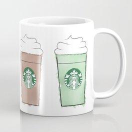 Watercolor Frappuccinos Coffee Mug