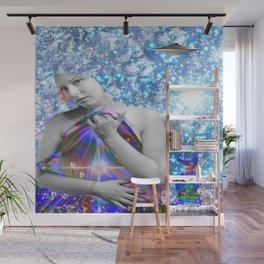 Cosmic Hitchhiker Wall Mural