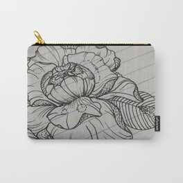 Classroom Peony Carry-All Pouch