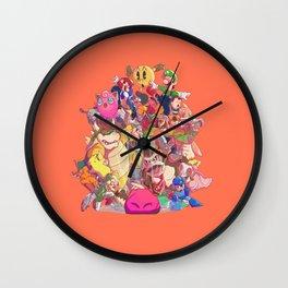 Down-B Wall Clock