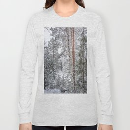 Winter in the Mountains Long Sleeve T-shirt