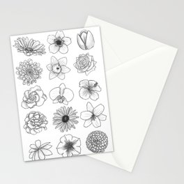 Bring May Flowers Stationery Cards
